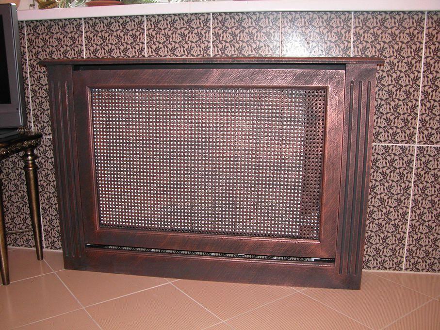 Как украсить чугунный радиатор отопления?